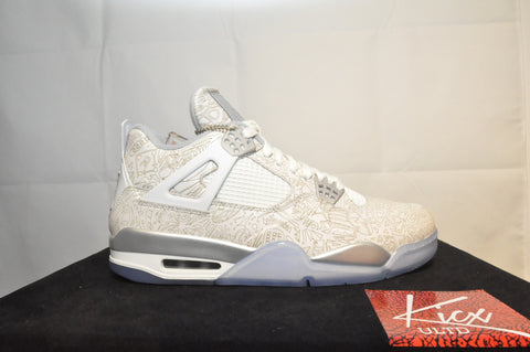 "AIR JORDAN 4 RETRO ""LASER"" - Sz 10.5"