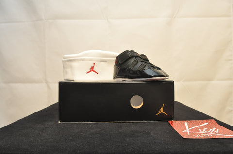 AIR JORDAN 11 RETRO GIFT PACK - Sz 3c
