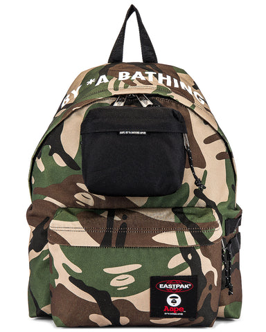 "A BATHING APE BAPE X EASTPAK BACKPACK ""CAMO"" - Sz O/S"