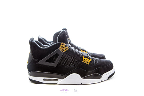 "AIR JORDAN 4 RETRO ""ROYALTY"" - Sz 9"
