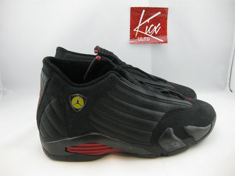 "AIR JORDAN 14 ""LAST SHOT"" 1999 - Sz 10"