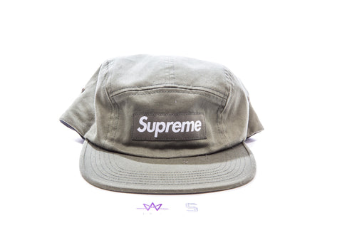 SUPREME WASHED CHINO TWILL CAMP CAP - Sz O/S