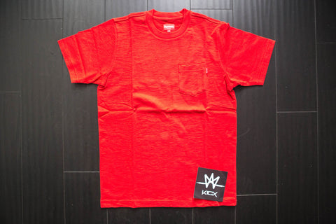 SUPREME POCKET TEE S/S - Sz M