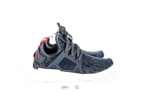 "NMD_XR1 PK W ""NAVY/RED"" (SIZE 9) - Sz 7.5"