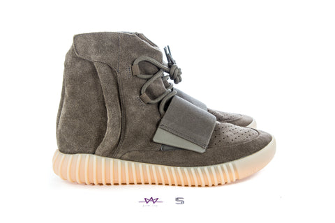 "YEEZY 750 BOOST ""CHOCOLATE"" - Sz 10.5"