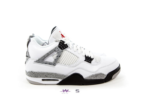 "AIR JORDAN 4 RETRO OG ""WHITE CEMENT"" 2016 - Sz 18"