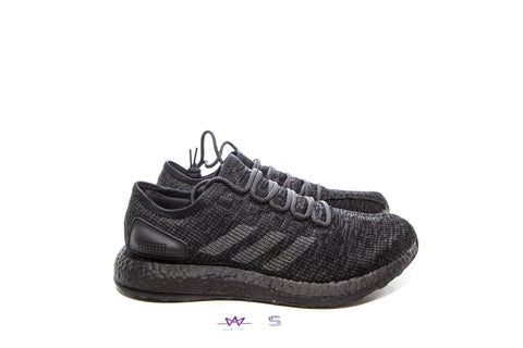 "ADIDAS PUREBOOST LTD ""CORE BLACK"" - Sz 9"