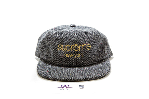 SUPREME WOOL HERRINGBONE CLASSIC LOGO - Sz ONE SIZE FIT ALL