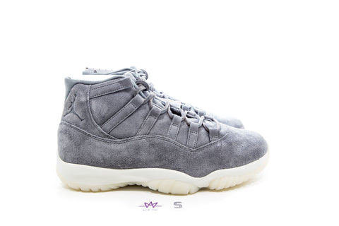 "AIR JORDAN 11 RETRO PREM ""GREY SUEDE"" - Sz 8"