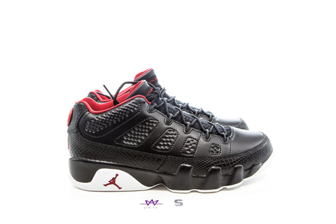 "AIR JORDAN 9 RETRO LOW ""CHICAGO"" - Sz 10"