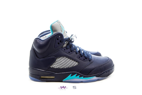 AIR JORDAN 5 RETRO `MIDNIGHT NAVY` - Sz 10