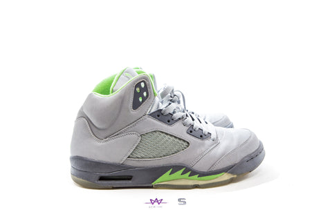 "AIR JORDAN 5 RETRO ""GREEN BEAN"" 2006 - Sz 10.5"