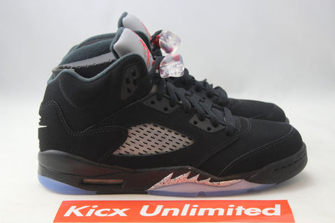 "AIR JORDAN 5 RETRO OG BG ""BLACK METALLIC"" - Sz 5.5y"