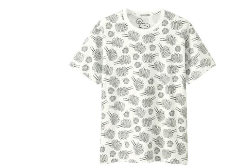 "KAWS DUST CLOUD TEE ""WHITE"" - Sz SMALL"