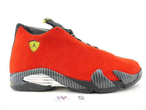 "AIR JORDAN 14 RETRO ""FERRARI"" - Sz 14"