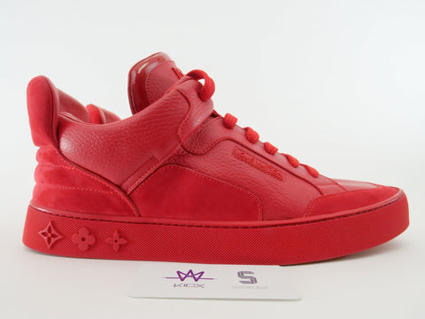 "LOUIS VUITTON DON X KANYE WEST ""RED"" - Sz 8.5 US"