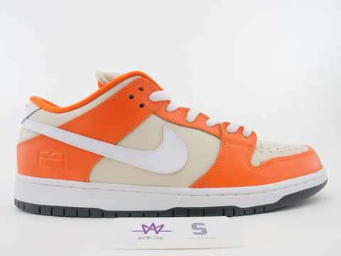 "NIKE DUNK LOW PREMIUM SB ""ORANGE BOX"" - Sz 12"