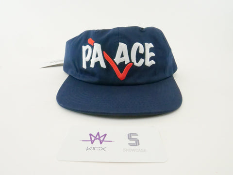 "PALACE CORRECT 6-PANEL ""NAVY"" - Sz O/S"