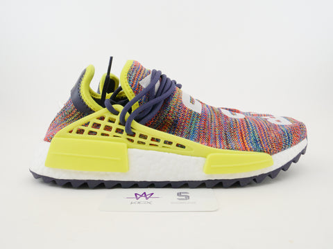"PW HUMAN RACE NMD TR ""MULTI-COLOR"" - Sz 10"