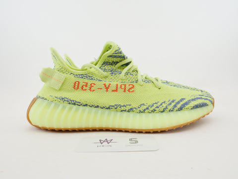 "YEEY BOOST 350 V2 ""FROZEN YELLOW"" - Sz 8"
