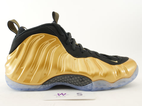 "AIR FOAMPOSITE ONE ""METALLIC GOLD"" - Sz 11"