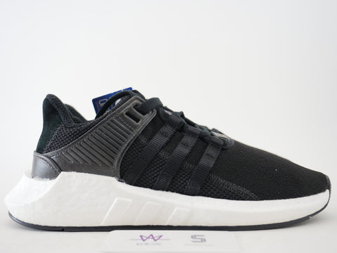 "ADIDAS EQT SUPPORT 93/17 ""CORE BLACK"" - Sz 6"