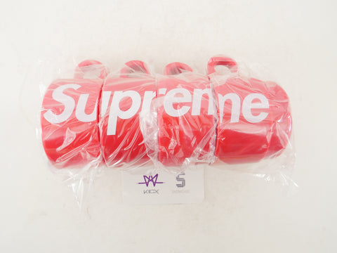 "SUPREME STACKING CUPS ""RED"" SET OF 4 - Sz O/S"