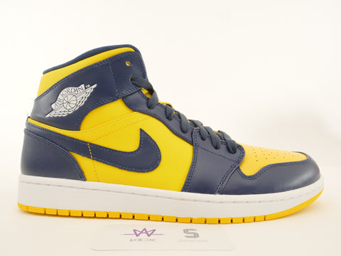 "AIR JORDAN 1 MID ""MICHIGAN"" - Sz 11"