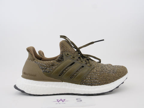 "ULTRA BOOST 3.0 ""TRACE OLIVE"" - Sz 9"