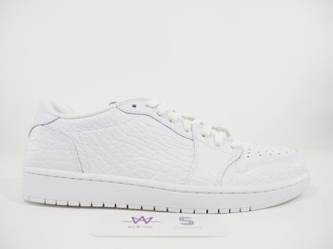 "NIKE AIR JORDAN 1 RETRO LOW NS ""WHITE'' - Sz 10"