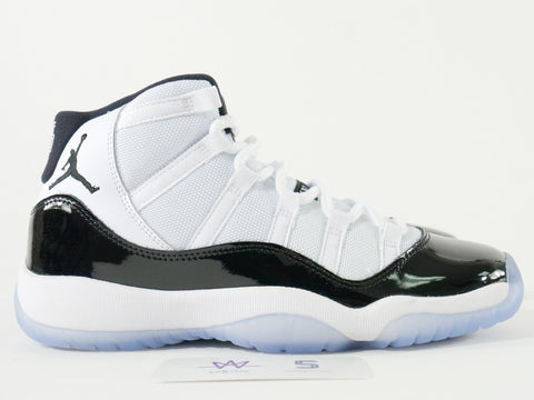 "AIR JORDAN 11 RETRO (GS) ""CONCORD"" - Sz 4Y"