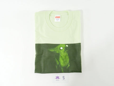 "SUPREME CHRIS CUNNINGHAM RUBBER JOHNNY ""PALE MINT"" - Sz SMALL"