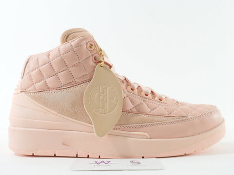 "AIR JORDAN 2 RETRO JUST DON GG ""ARCTIC ORANGE"" - Sz 4.5y"