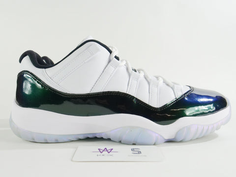"AIR JORDAN 11 RETRO LOW ""IRIDESCENT"" - Sz 14"