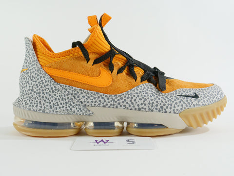 LEBRON XVI ATMOST SAFARI LOWS - Sz 9.5