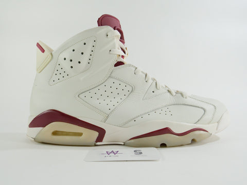 "AIR JORDAN 6 RETRO ""MAROON"" - Sz 17"