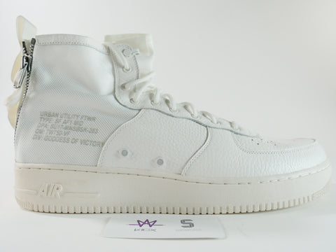 "AIR FORCE 1 SFB ""WHITE' - Sz 17"