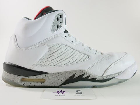 "JORDAN 5 RETRO ""CEMENT"" - Sz 16"