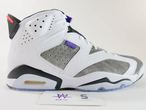 "AIR JORDAN RETRO 6 LTR ""FLINT"" - Sz 10"
