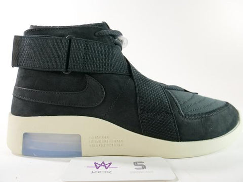 "AIR FEAR OF GOD RAID ""BLACK"" - Sz 10.5"