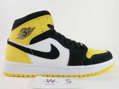 "AIR JORDAN 1 MID SE ""YELLOW TOE"" - Sz 8.5"