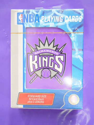 SACRAMENTO KINGS NBA PLAYING CARDS - Sz O/S