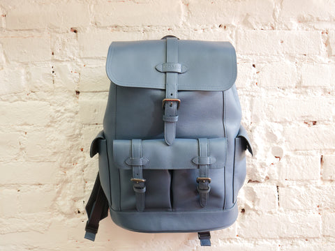 "COACH HUDSON BACKPACK ""DENIM"" - Sz O/S"