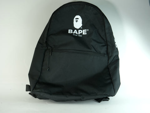 "A BATHING APE BACKPACK ""BLACK"" - Sz O/S"