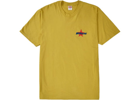 "SUPREME MONEY POWER RESPECT TEE ""ACID YELLOW"" - Sz LARGE"