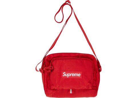 "SUPREME SHOULDER BAG SS19 ""RED"" - SZ O/S"