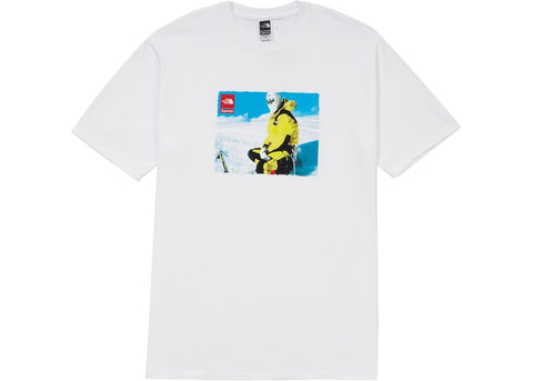 "SUPREME X THE NORTH FACE EXPEDITION TEE ""WHITE"" - Sz MEDIUM"