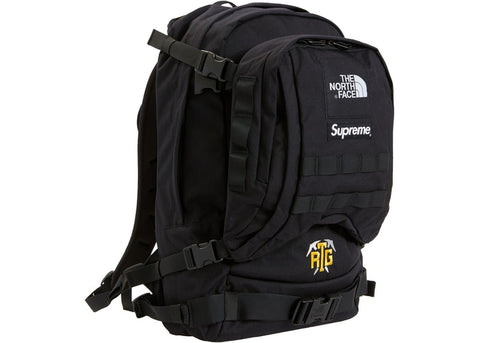 "SUPREME X NORTH FACE TNF RTG BACKPACK ""BLACK"" - Sz O/S"