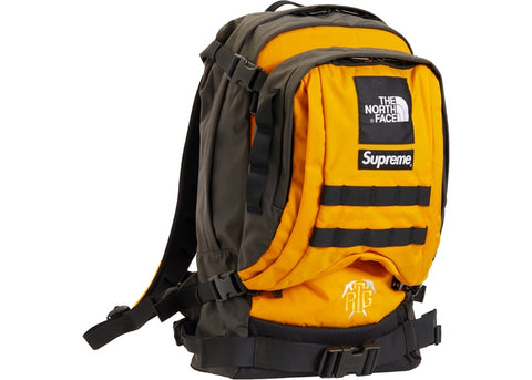 "SUPREME TNF RTG BACKPACK ""SUMMIT GOLD"" - Sz O/S"