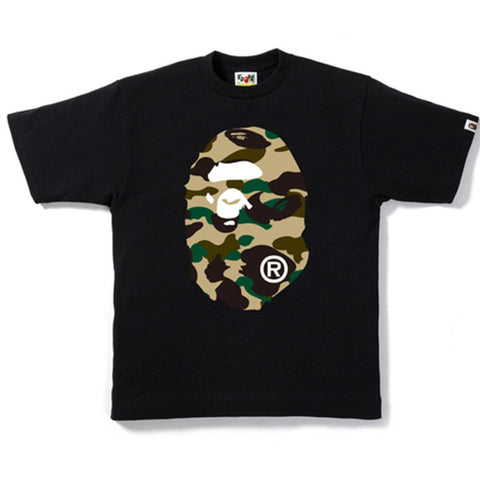 "BAPE APE HEAD YELLOW CAMO TEE 2020 ""BLACK"" - Sz X-LARGE"